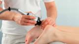 Лечение пяточной шпоры с помощью УВТ